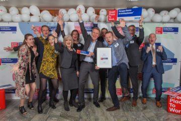 RA Service blant Norges beste arbeidsplasser i Great Place To Work kåringen 2018